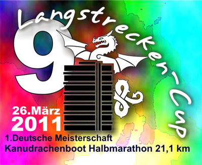 Flyer 2. DM Drachenboot Langstrecke 2011
