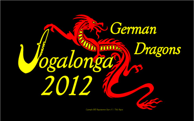 """German Dragons"" Vogalonga T-Shirt 2012"